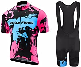 Uglyfrog Bike Wear Cycling Jerseys - Breathable Short Sleeve Bike Jersey for Pro Bicycle Team Clothing