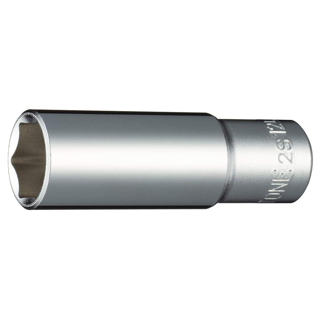 指標虚偽パッチトネ(TONE) ディープソケット(6角) 差込角6.35mm(1/4