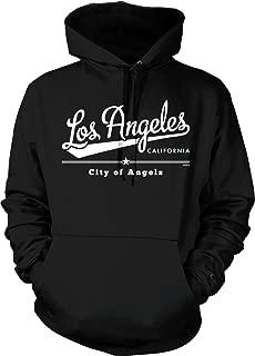 Los Angeles California, City of Angels Hooded Sweatshirt, NOFO Clothing Co.