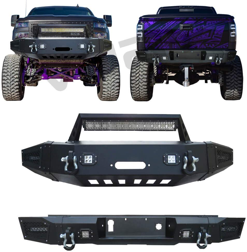 Vijay Front Bumper and Rear Black Ligh with Spring gift new work one after another Texture LED 9