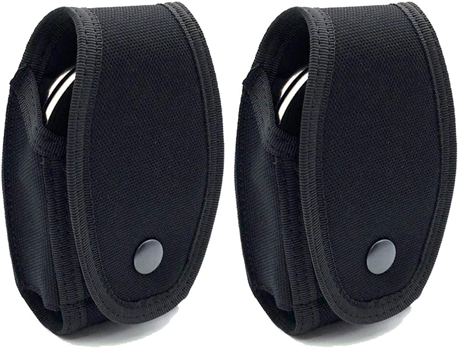 Xuanfeng (2 Pack) Universal Quick Release Handcuff Cases Handcuff Holders Pouches