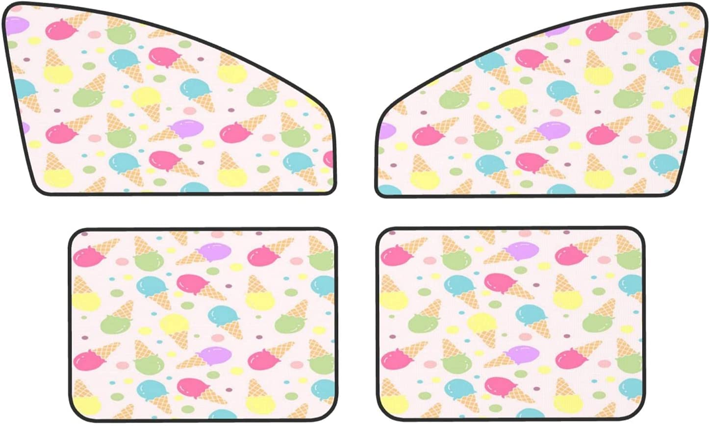 Ice-Cream Car Magnets Protect Covers Rear Fron Privacy Popular products Sunshades New products, world's highest quality popular!