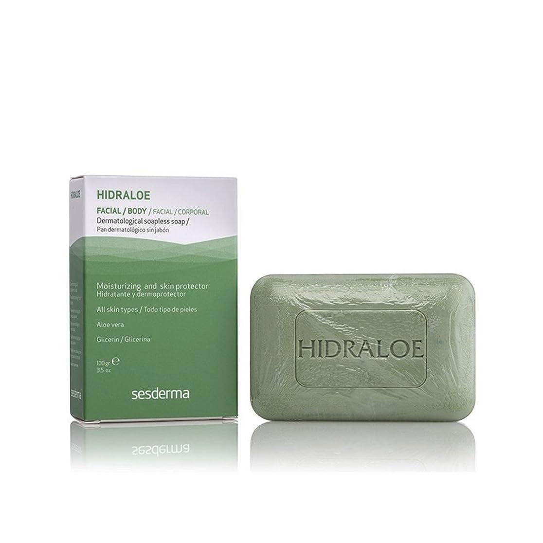 センター欺精査するSesderma Hidraloe Dermatological Soapless Soap 100gr [並行輸入品]