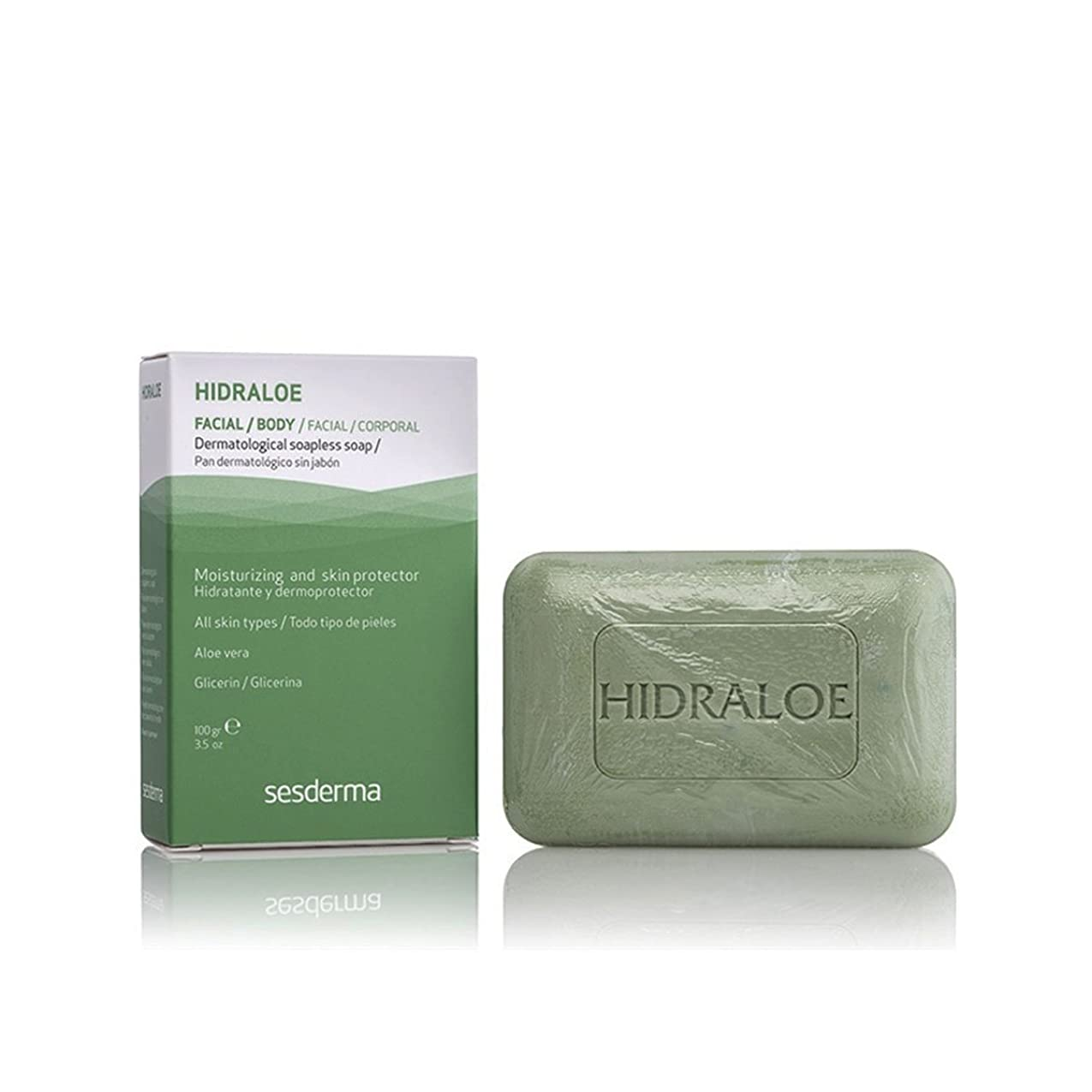 マーベル優しい腸Sesderma Hidraloe Dermatological Soapless Soap 100gr [並行輸入品]