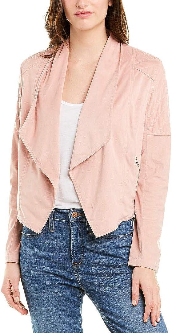 JACK Women's Quilt Trip Faux Suede Fashion Jacket Front Super sale Drape
