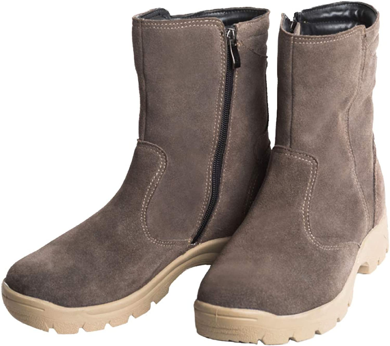 Men's Snow Boots Winter High Top Men Super Warm Genuine Fur Military Fur Boot for Men shoes Large Size:38-45