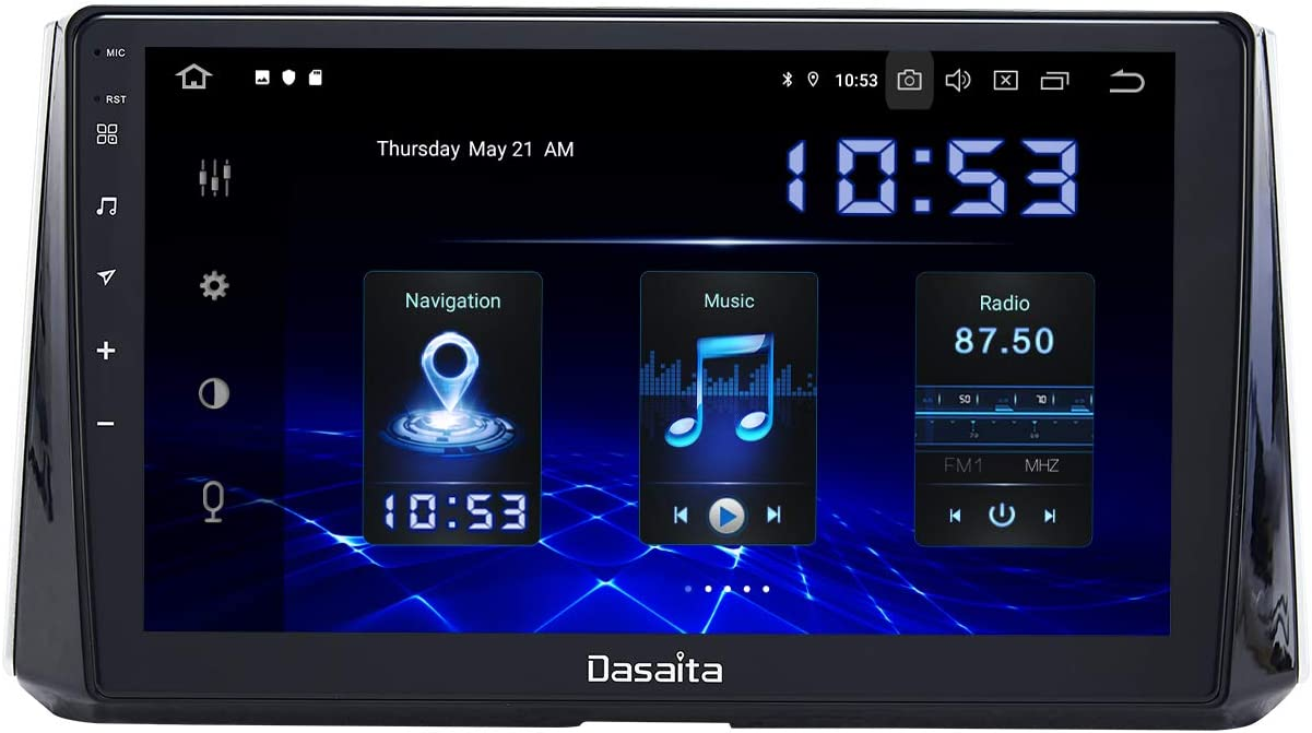 """Dasaita 10.2"""" Android Car Stereo for Toyota Corolla 2019 2020 Head Unit with Apple Carplay Support Bluetooth 5.0 Android Auto WiFi GPS Navigation"""