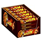 Nestlé LION Schokoriegel mit Karamell, bissiger Snack, knackige Schokolade & knusprige Crisps, Karamellfüllung, das besondere Beißerlebnis, Multi-Pack, Menge: 24er Pack (24 x 42 g)