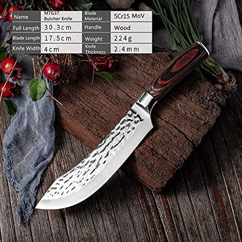 Boning Knife Hammered Stainless Steel discount Butcher for knife Peeling Super beauty product restock quality top