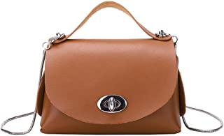 Everpert Mini Messenger Bags Casual Handbags Women Pu Leather Crossbody Bags Chain Shoulder Bag