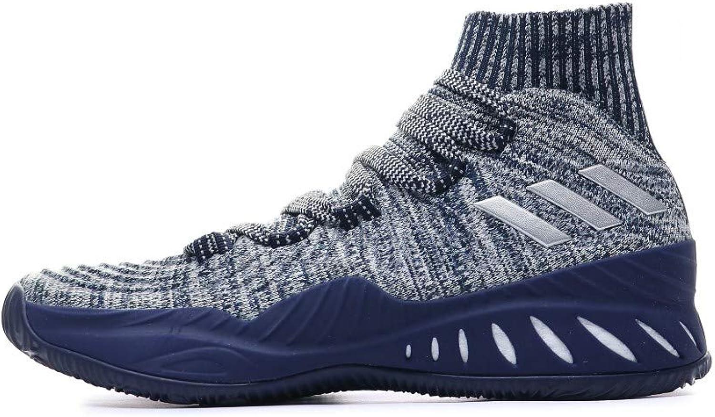 Adidas Herren Crazy Explosive 2017 Primeknit Fitnessschuhe, Grau (Gridos Vealre Azuosc 000), 49 1 3 EU