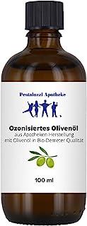 Ozonisiertes Olivenöl, 100 ml - aus Apotheken-Herstellung mit Olivenöl in Bio-Demeter Qualität