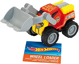 Theo Klein 2439 Hot Wheels Loader, Scale 1:24, Toy, Multicolour