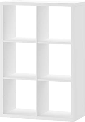 Marque Amazon -Movian MULTIBOX 6, bookcase, 73.7 x 33.1 x 108.2 cm, white