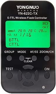 Yongnuo 622N TX-Ittl/YN622°C-TX TTL Blitzausloeser uzaktan kumanda kablosuz, devir sayısı SYNCHRO1/8000s kablosuz Flash + difüzör stüdyo ışığı YN-622C-TX