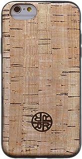 Reveal iPhone 7 Plus/8 Plus Case - Natural Cork Wood Leather Cases Shop (Natural Beige)