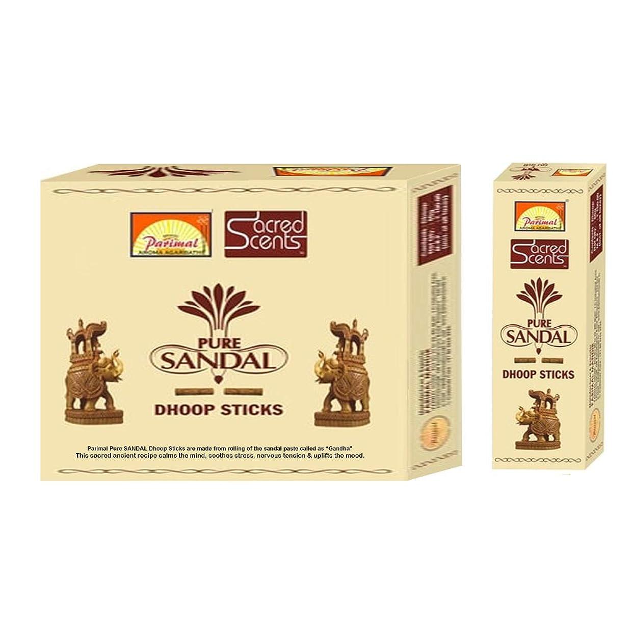 極貧より良いParimal Sacred Scents 天然ピュアサンダル フープスティック | 1箱50グラム6パック | 輸出品質