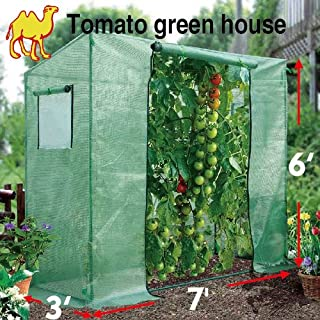 STRONG CAMEL 7'X3'X6' New Outdoor Tomato Green House Planting Gardening Garden Greenhouse