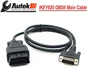 Autek Key fob Programmer IKEY820 Main Cable 16Pin and OBD Connector
