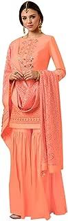 Bridal Wedding Collection Silk Muslim Garara Suit Pakistani Salwar kameez Formal Custom to Measure Eid 2835