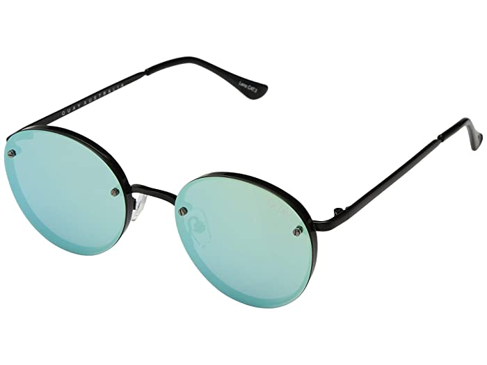 Farrah (Black/Mint) Fashion Sunglasses