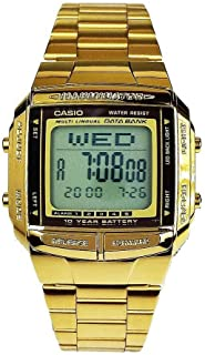 カシオ 腕時計 データバンク 海外モデル 並行輸入品 DB-360G-9ADF ゴールド [時計] [時計]