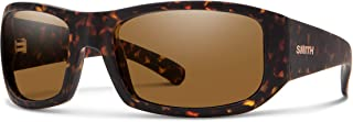 Smith Optics Bauhaus 201930N9P54L5 Unisex Matte Dark Amber Tort Frame Brown ChromaPop Lens Wrap Sunglasses