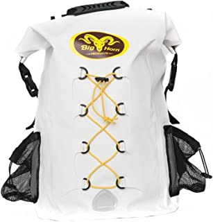 Waterproof Backpack by Big Horn Products - Large 30L Rolltop Dry Bag Backpack Perfect for Outdoor Adventures
