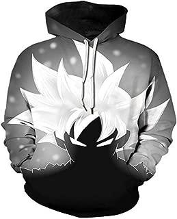 3D Print Men Hoodies Jacket Anime Super Saiyan Goku Ultra Instinct Vegeta Kids Pullover