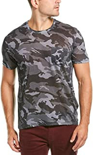 Mens Stockholm Linen T-Shirt, L, Grey