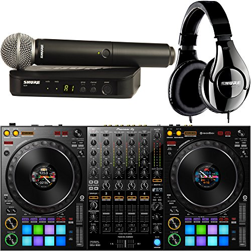 For Sale! Pioneer DDJ-1000 4-Channel DJ Controller for Rekordbox Dj with Shure Wireless SM58 Microph...
