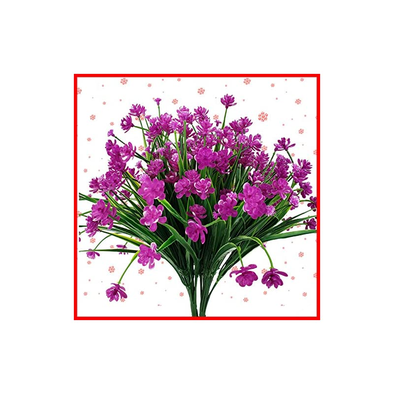 silk flower arrangements artificial flowers fake outdoor faux plants greenery daffodils white shrubs plastic bushes