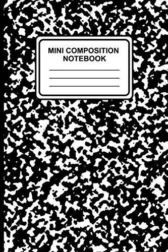 Mini Composition Notebook: 6