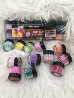 Mia Secret Professional acrylic powder Fruity Bar collection 12 piece or single jar Pick Yours (12 PIECE COLLECTION)