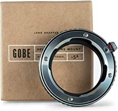 Gobe Lens Mount Adapter: Compatible with Leica M Lens and Nikon F Camera Body