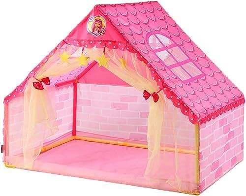 Global-tent Spielhauszelt Der Kinder, Größer Platz FüR ZWeißersonen, Rosa Niedliches mädchenprinzessinhaus