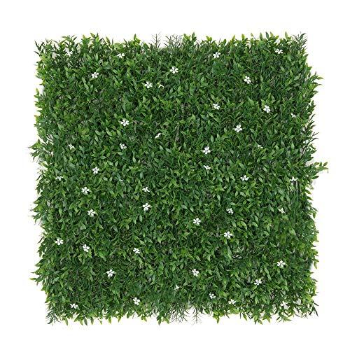 Seto Artificial Decorativo Verde de plástico para terraza Garden - LOLAhome