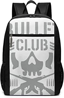 EHRJIF Bullet Club SchoolComputer Bookbag for Women, Men, Outdoor CampingFits Up to 17-inch Notebook Backpack