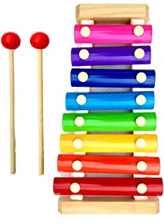 Craftize Mstore Wooden Xylophone Musical Toy for Children with 8 Note
