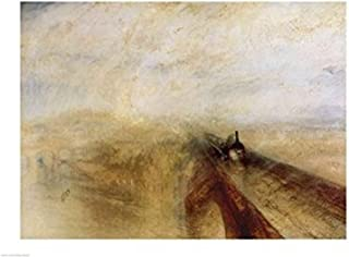 Rain Steam and Speed Poster Print by JMW Turner (36 x 24)