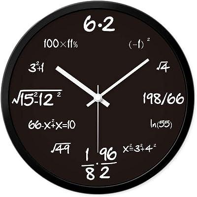 Amazon Com Vorcool Mathematics Blackboard Pop Quiz Clock Wall