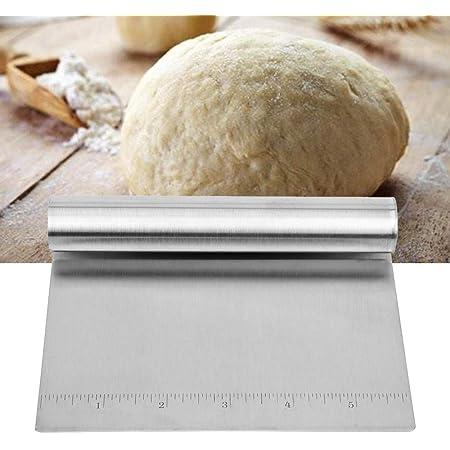 iTimo Coupe-pâte en acier inoxydable pour pizza Pastry Pancake Battercake