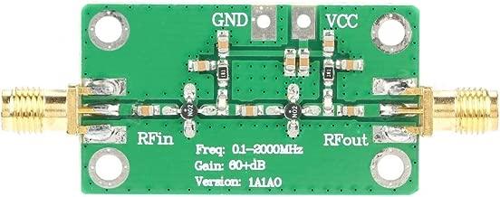 RF Amplifier, 0.1-2000MHz Gain 60dB RF Broadband Amplifier LNA 0.1~2GHZ Control Module RF Amplifier