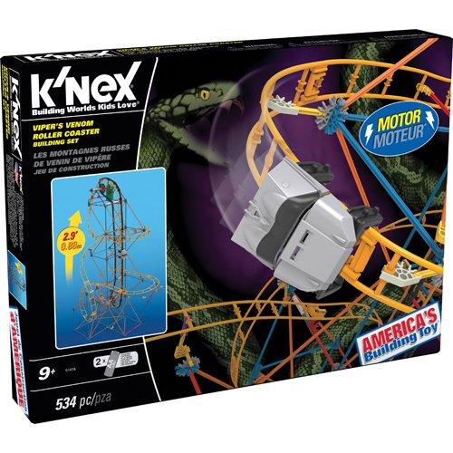 Knex - 33288 - Veneno de Víbora Coaster Roller Juego de construcción