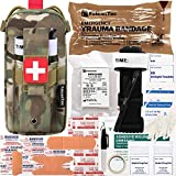 8. FalconTac Everyday Carry Trauma Kit IFAK Emergency Treatment Care EMT First Aid Kit (Camouflage)