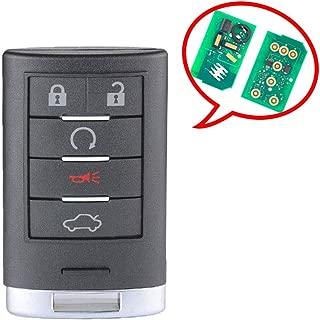 Befunny Keyless Entry Car Remote Smart Key Fob FCC ID: M3N5WY7777A for Cadillac CTS STS (1)