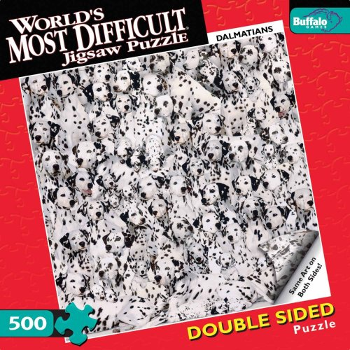 World's Most Difficult Jigsaw Puzzle: Dalmatians