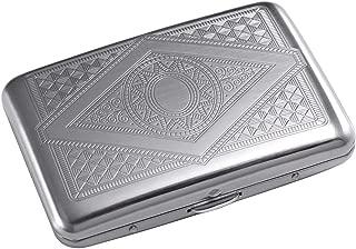 RFID Blocking Credit Card Holder/Protector - Best Metal/Stainless Steel Travel Wallet/Case for Men & Women