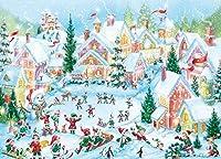 Shimaier 1000ピース クリスマスパズル クリスマスプレゼントマイクロピース