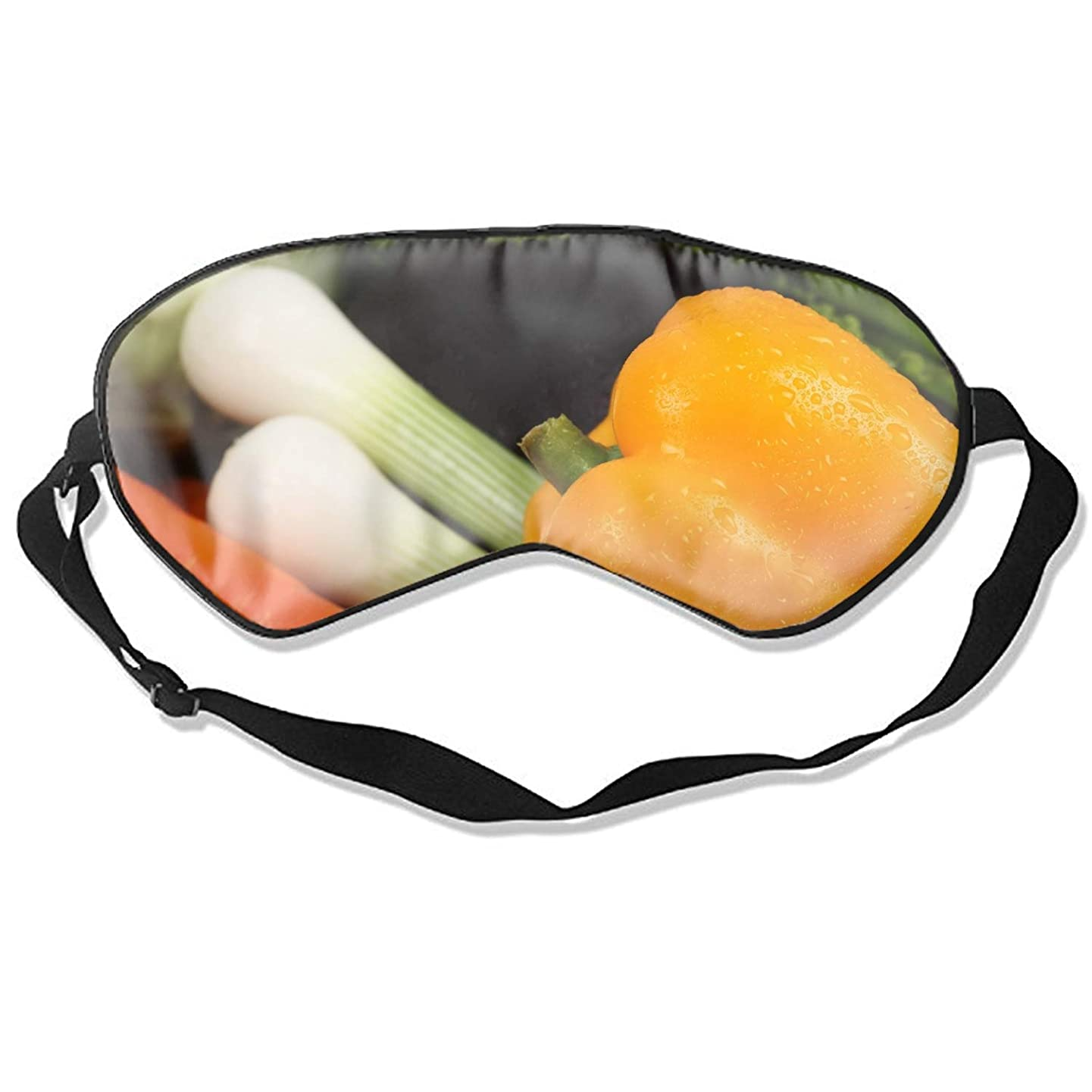 Vegetables Drops Peppers Onions Carrots Cucumber Eye Shade Patch Sleeping Eye Mask Cover